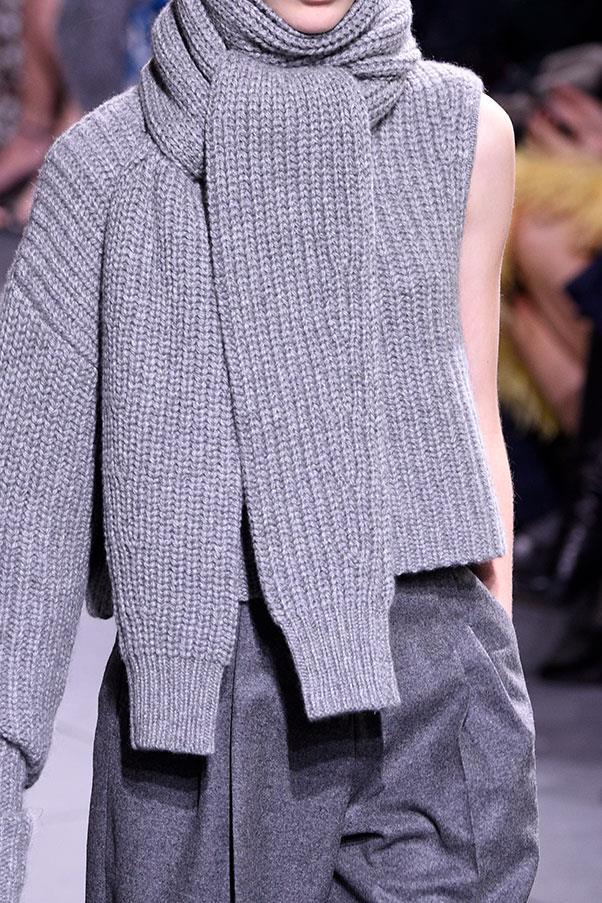 The knitwear at Michael Kors.