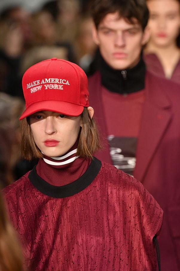 The political hats at Public School.