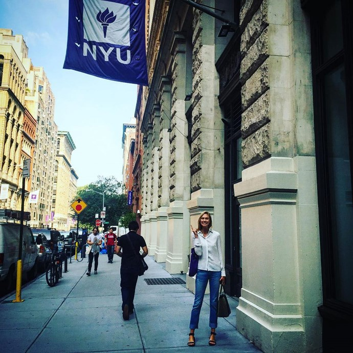 """<p><strong>Karlie Kloss</strong> <p>It was a *big deal* when Karlie chose attending New York University's Gallatin School of Individualized Study over walking in the Victoria's Secret Fashion Show in 2015. She also thinks it's important that more women know how to code, so she set up <a href=""""http://kodewithklossy.com/"""">Kode With Klossy</a> to encourage young women to up-skill so they """"have the power to shape our future."""" <p>Image: <a href=""""https://www.instagram.com/p/7JZu8JESgh/"""">@karliekloss</a>"""