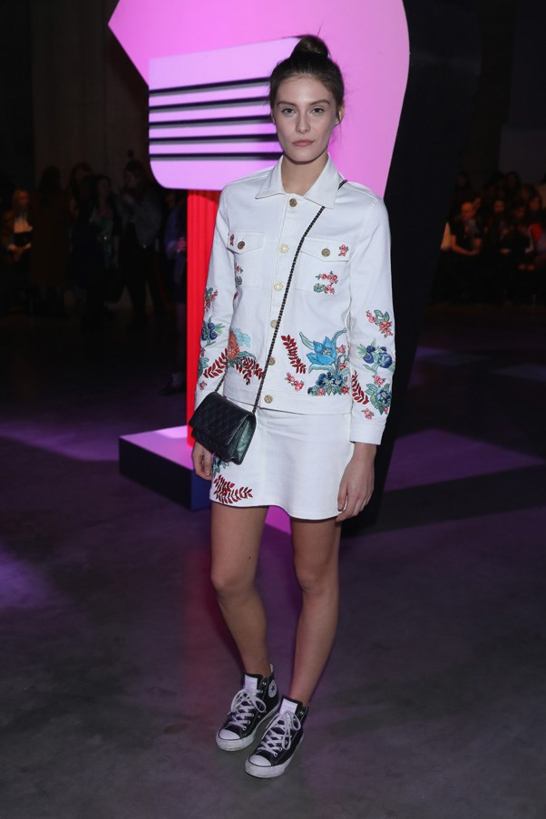 <p>Charlotte Wiggins at House of Holland