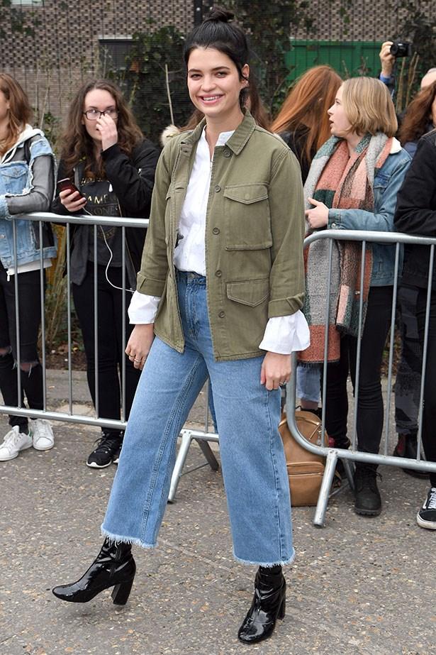 Pixie Geldof at Topshop Unique