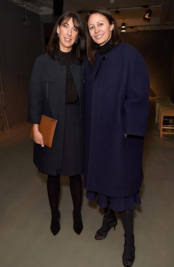 Samantha Cameron and Caroline Rush