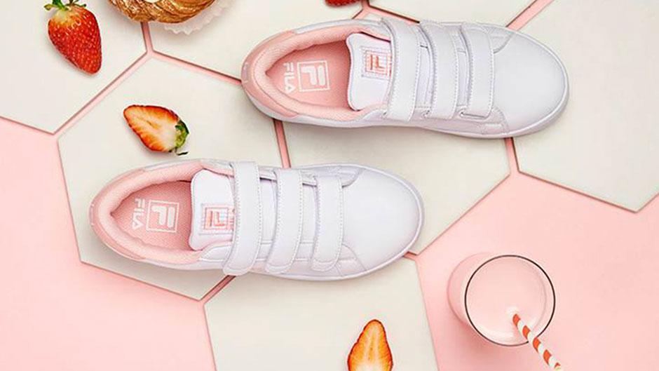 New Strawberry Milk Sneakers | ELLE