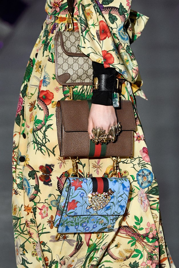 If you thought getting your hands on one Gucci bag was hard enough, try three.