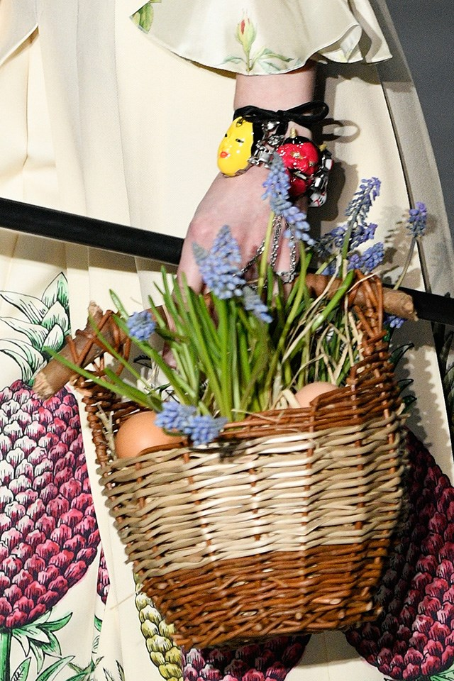 As well as Alexa Chung's favourite basket trend.