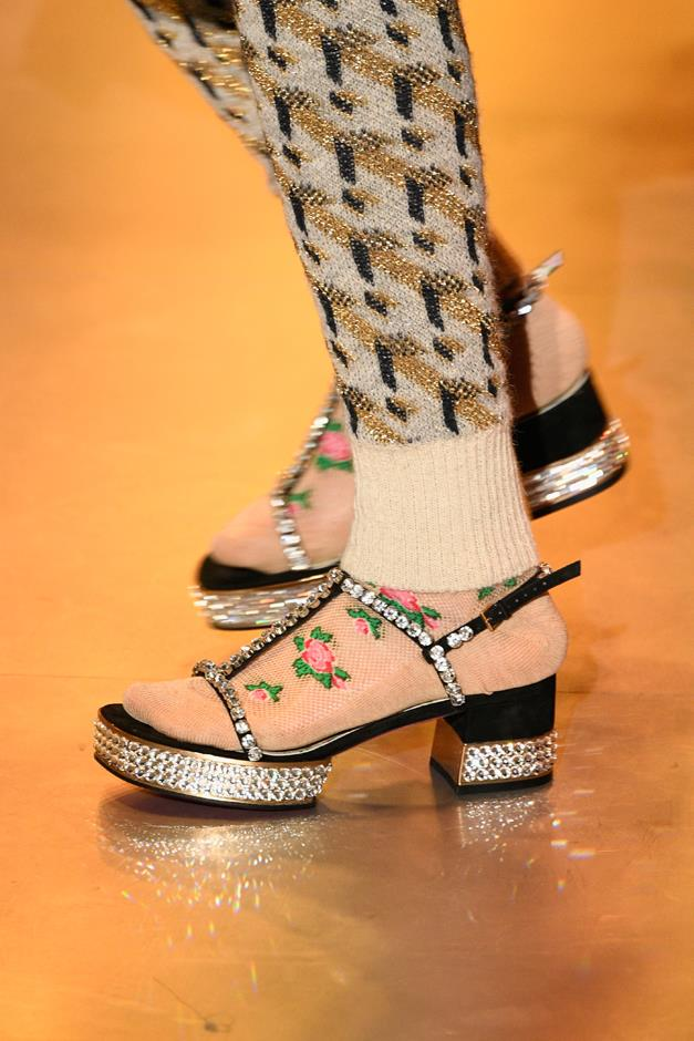 Or will it be these platform sandals?