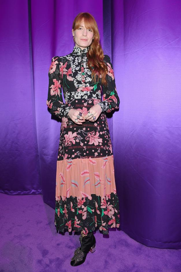 Florence Welch sat front row.