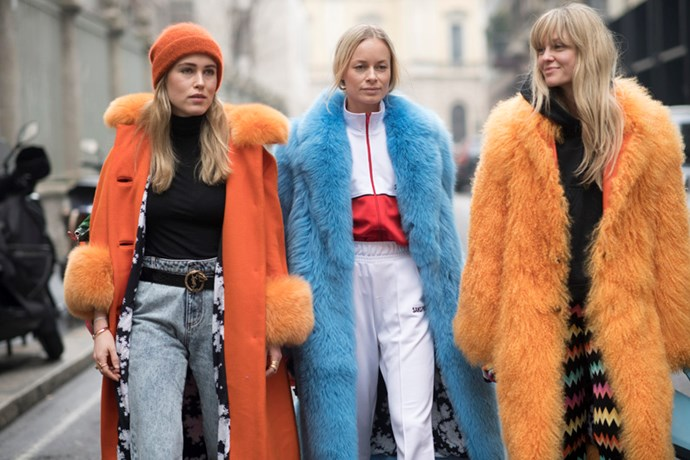 <p>We round-up the best street style from Milan fashion week, as it happens.
