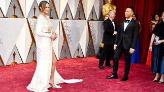 Cute Oscars Red Carpet Moments