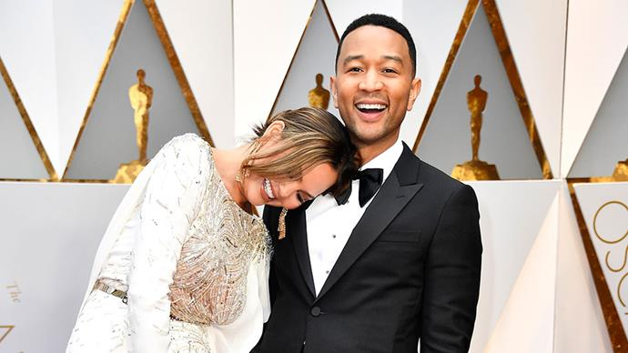 <p>Take a look at the cutest couple moments from the 2017 Oscars red carpet.