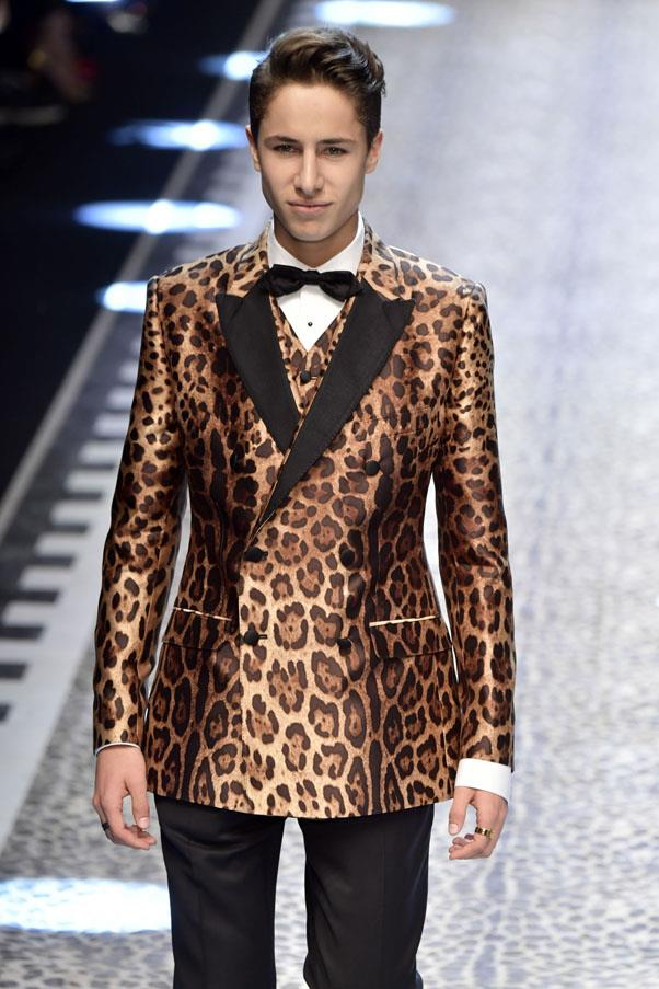 <p><strong>Juanpa Zurita</strong> <p>He's a Mexican internet star who looks gorgeous in leopard print. His appearance on the Dolce & Gabbana runway became a Twitter trending topic.