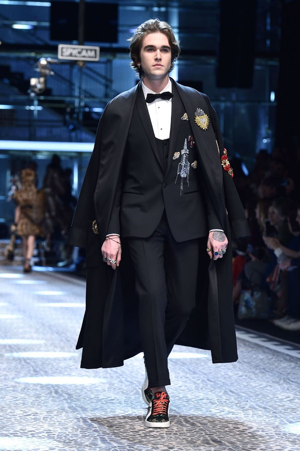 <p><strong>Gabriel Day-Lewis</strong> <p>The son of Irish actor Daniel Day-Lewis and French bombshell Isabelle Adjani, he's a former face of Saint Laurent and a musician.