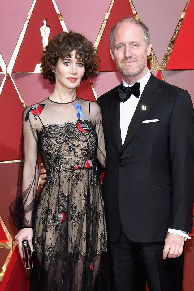 Director Miranda July wore one.