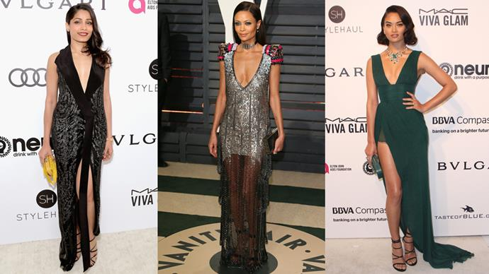 Here are our favourite looks from the after-parties tonight.