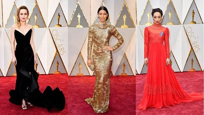 See our favourites from the Oscars red carpet.