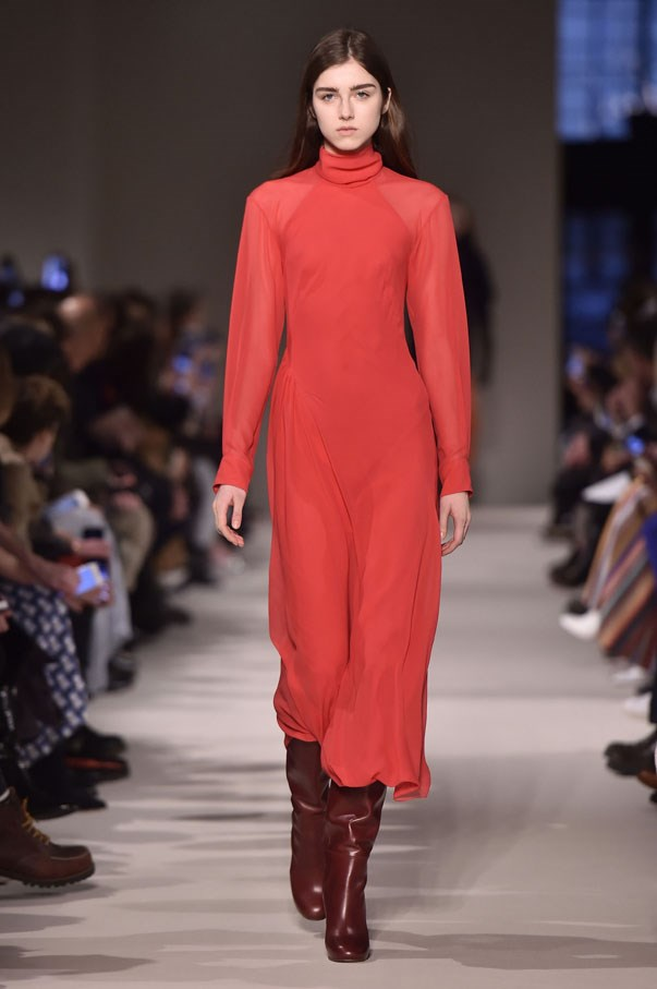 <strong>ARIES</strong> <BR><BR> Red is your power colour, but it's also one of the colours of the season. Try one of the many dresses that walked the runway, such as this turtleneck number from Victoria Beckham or Brock Collection's swoon-y off-the-shoulder gown. Whatever you pick, though, make sure its super saturated. No wimpy tomato sauce water here.