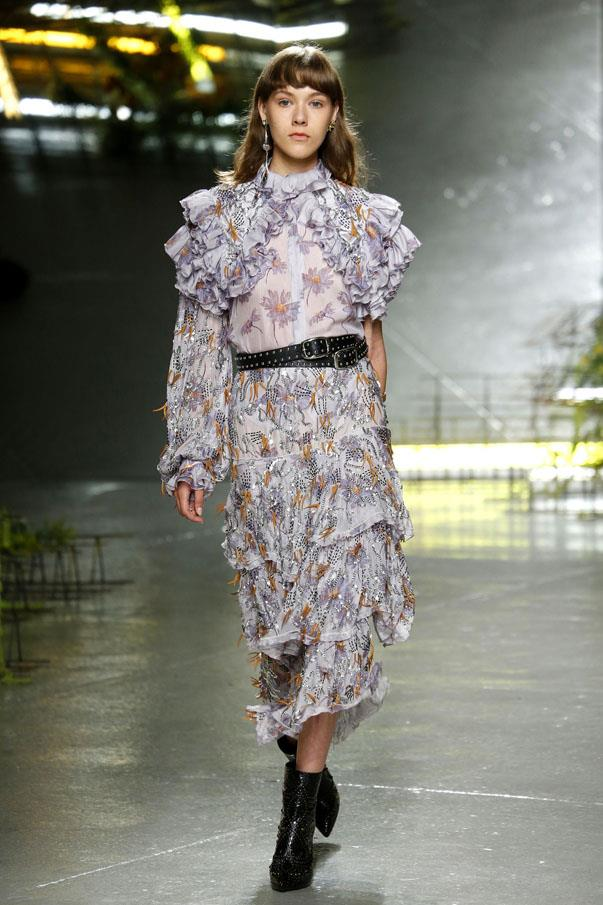 <strong>CANCER</strong> <br><br> No use beating around the bush: RUFFLES! As one of the zodiac's most beauty-obsessed signs, designers' preoccupation with fabric gatherings ought to be really problematic for your credit card balance. But it's fine! Rodarte's may be flowing, but give the more structured, exaggerated ones a go too.