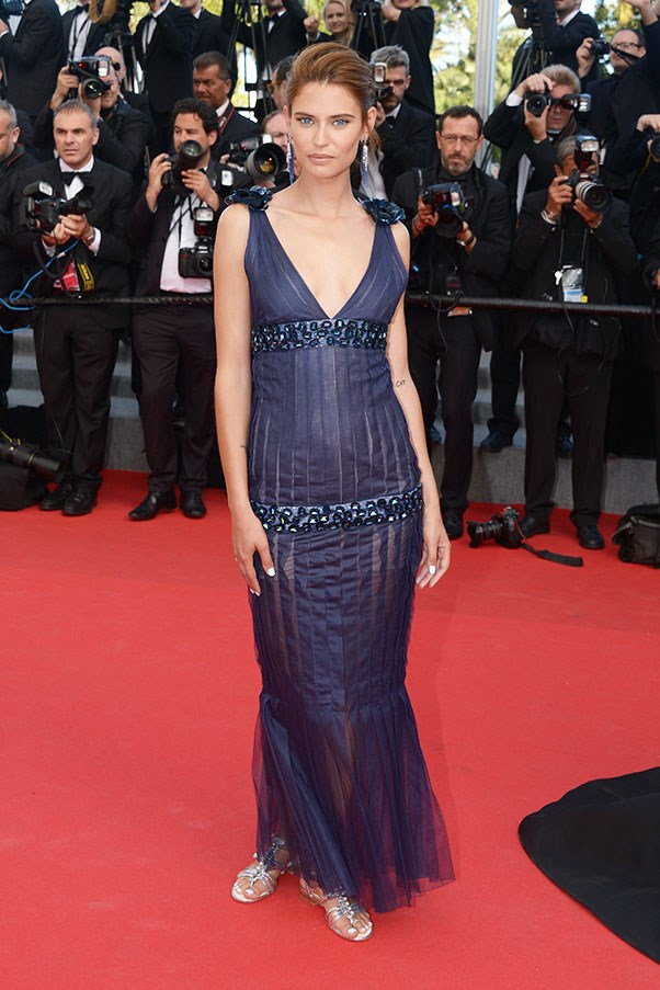<p>Bianca Balti at Cannes, May 2014.