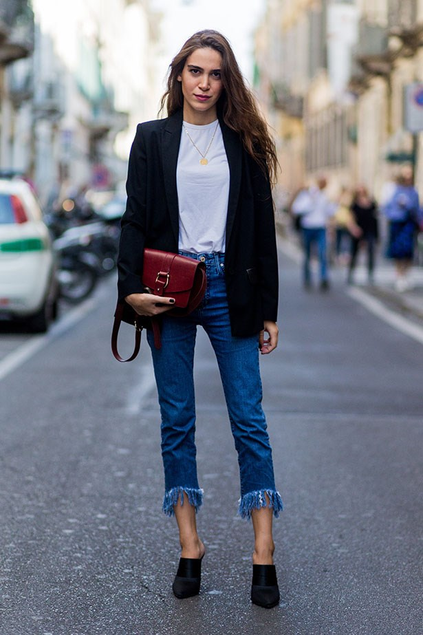 <strong>4. Don A Pair Of Cropped Trousers</strong> <br></br> Circumvent the grubby trouser leg situation entirely by opting for cut-off denim and culotte styles. Alternatively, make like the nautical lot and DIY with a tactful double roll from up from the hem up.