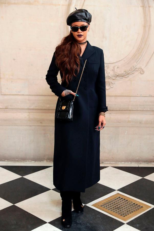 <p>Rihanna in Dior