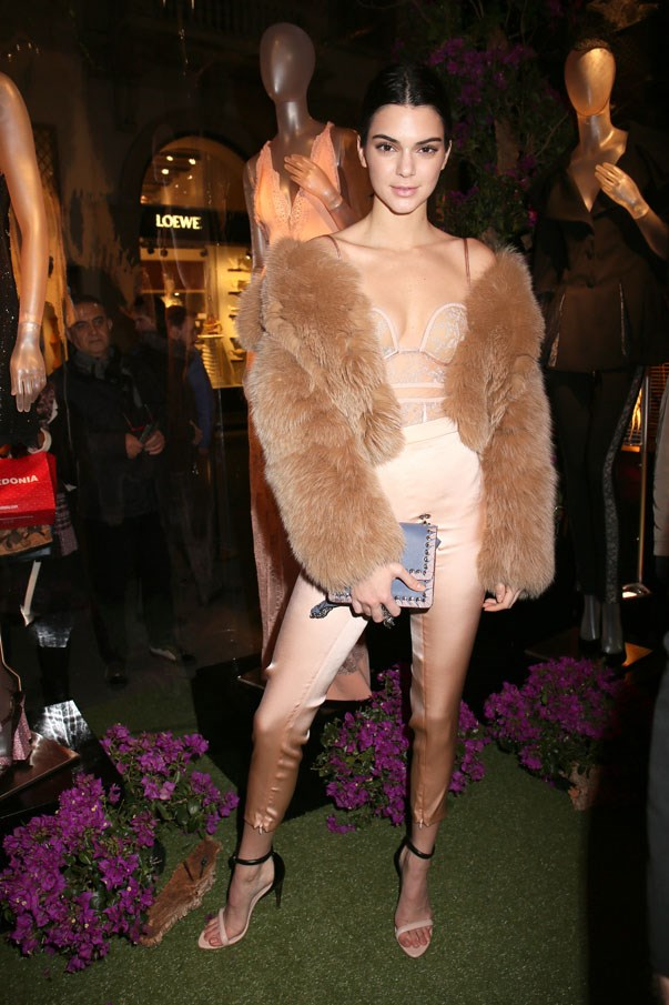 <p>Kendall Jenner at La Perla autumn/winter 2017/18