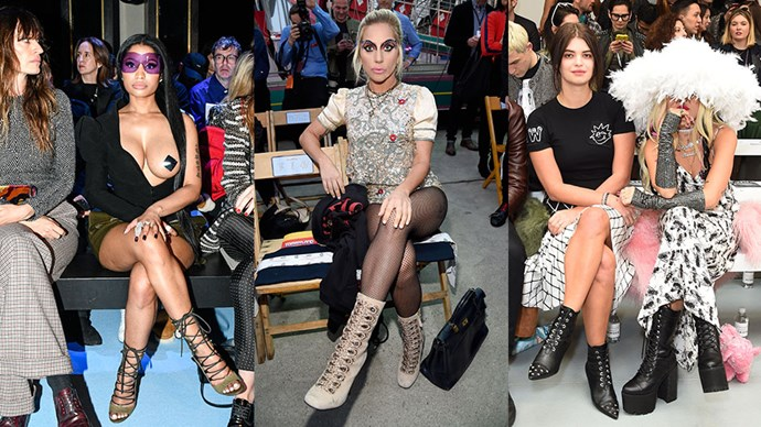 <p><em>ELLE</em> tracks the most risqué and out-of-the box front row fashion.