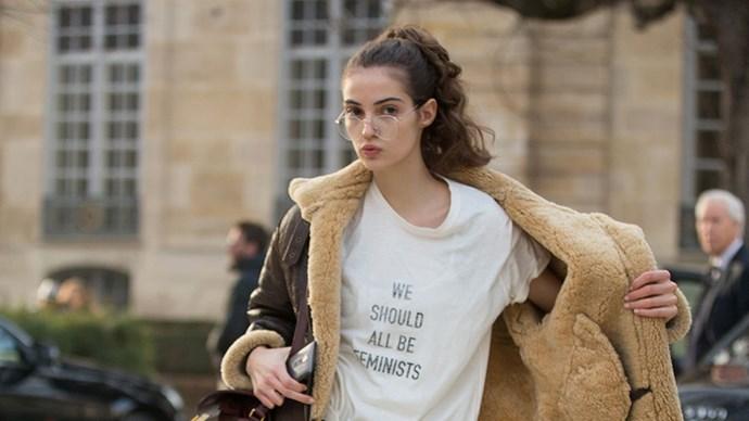 Nasty Woman t-shirt.