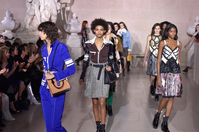 <p>For yet another phenomenal season at Louis Vuitton, Nicolas Ghesquière got the collection ready for its close-up.