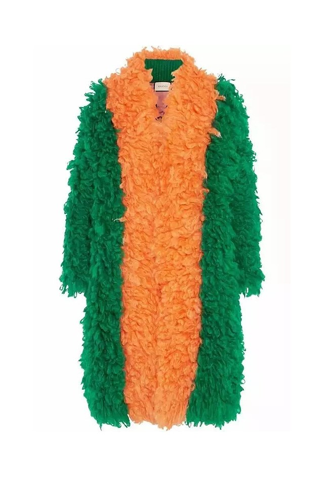 "<p> <strong>This furry coat, $5,496.</strong> <p> For dress-ups. <p> Coat, $5,496, <a href=""https://www.net-a-porter.com/au/en/product/757426/Gucci/two-tone-mohair-blend-coat"">Gucci at net-a-porter.com</a>"
