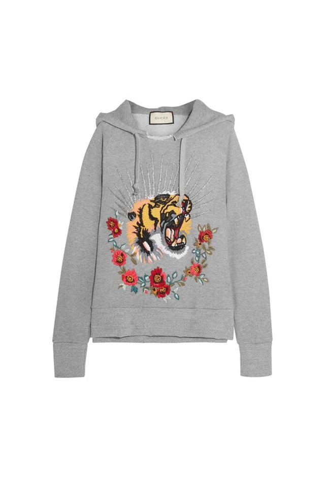 "<p> <strong>This embroidered hoodie, $4,305.</strong> <p> For lounging around the house. <p> Hoodie, $4,305 <a href=""https://www.net-a-porter.com/au/en/product/803198/Gucci/embroidered-embellished-cotton-jersey-hooded-top"">Gucci at net-a-porter.com</a>"