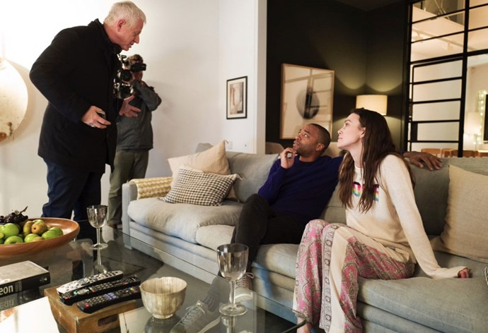 <p>The last day on the set involved a scene with Chiwetel Ejiofor and Keira Knightley.