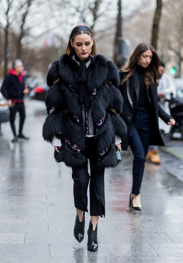 Olivia Palermo at Paris Fashion Week