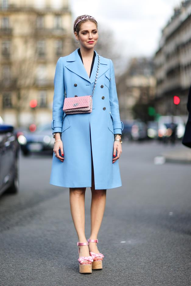 Chiara Ferragni at Paris Fashion Week