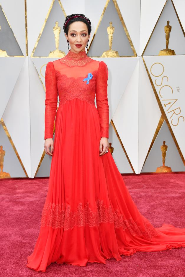 Ruth Negga at the Oscars