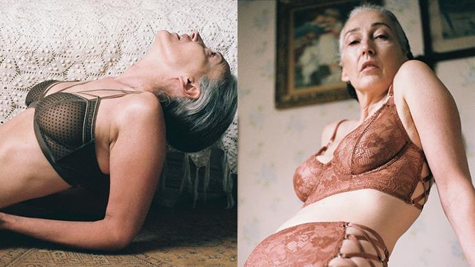 Cult lingerie label Lonely has unveiled it's latest campaign starring 56-year-old model Mercy Brewer. As with everything Lonely does, the end results are stunning.