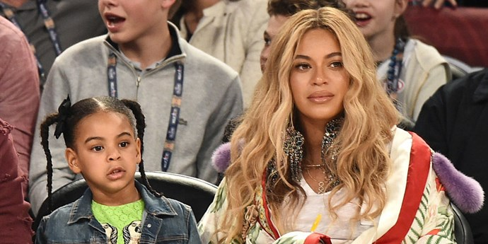 beyonce blue ivy twins