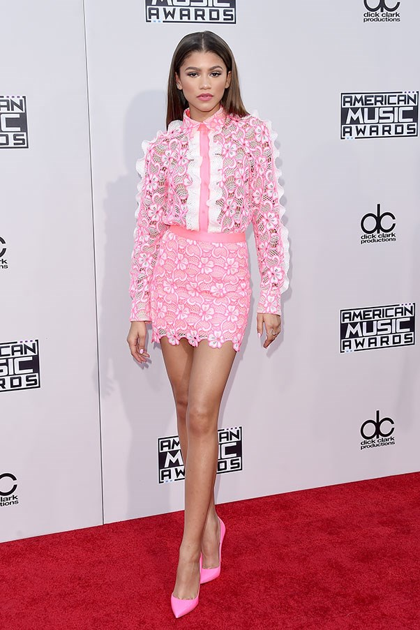 At the American Music Awards, November 2015.