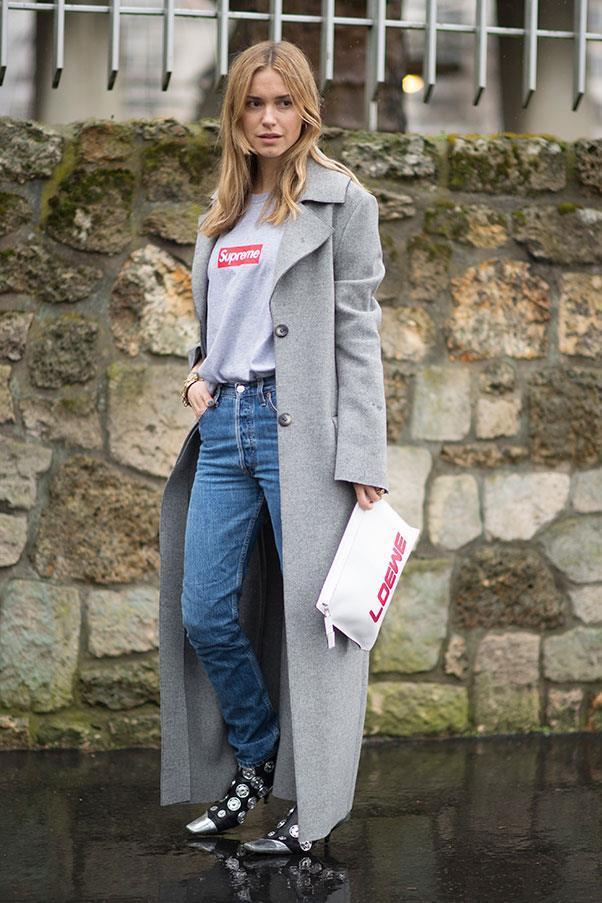 Pernille Teisbaek at Paris fashion week.