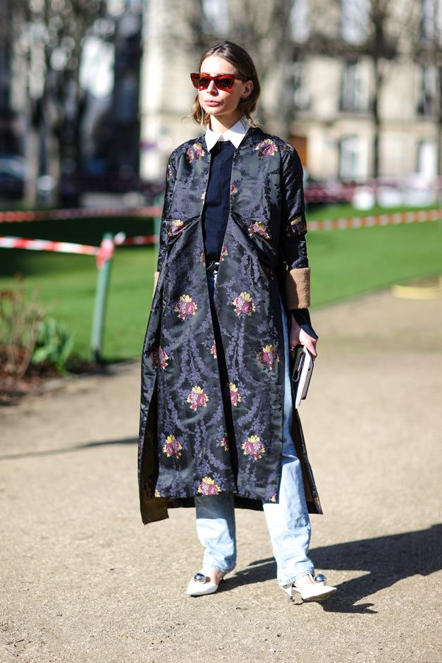 <p><em>Dark florals</em><p> While florals (for spring) may not be groundbreaking, a moody, dark take on them definitely is.