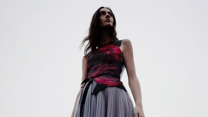 Christopher Kane Beauty and the Beast collection