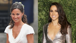 Meghan Markle and Pippa Middleton.