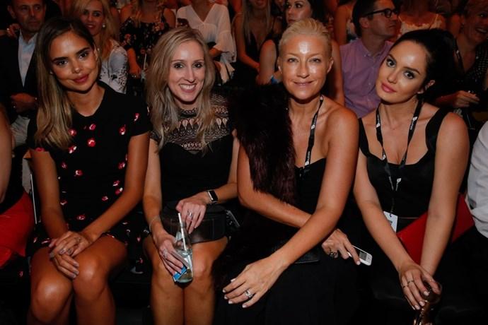Samantha Harris, Paula Joye and Chloe Morello