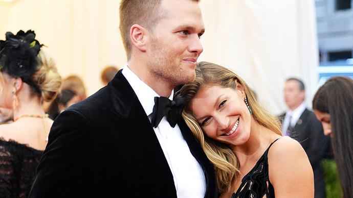 **Gisele Bündchen and Tom Brady** <br><br> Although we've been #blessed with exactly one picture from their wedding in 2009, the details surrounding haven't seen the light of day... so far. The couple now have two children together, Vivian Lake and Benjamin Rain.