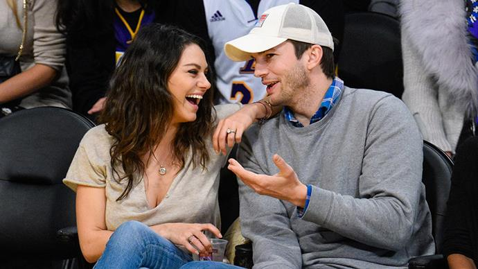 **Mila Kunis and Ashton Kutcher** <br><br> Mila and Ashton are notoriously private. Not only do we not have any details from their wedding, we don't really have many pictures of them together at all.
