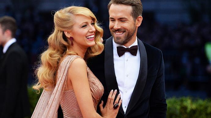 **Blake Lively and Ryan Reynolds** <br><br> Although we got a few detail shots, Blake and Ryan have never shared any proper pictures from their big day.