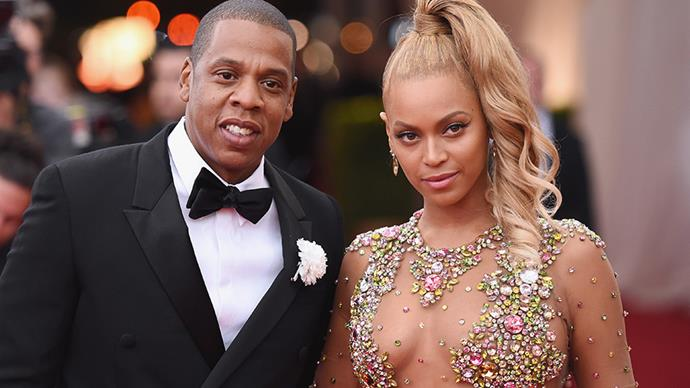 **Beyoncé Knowles and Jay Z** <br><br> The only thing we've ever seen from the Bey Z wedding is a blurry black and white clip from one of Beyoncé's music videos.