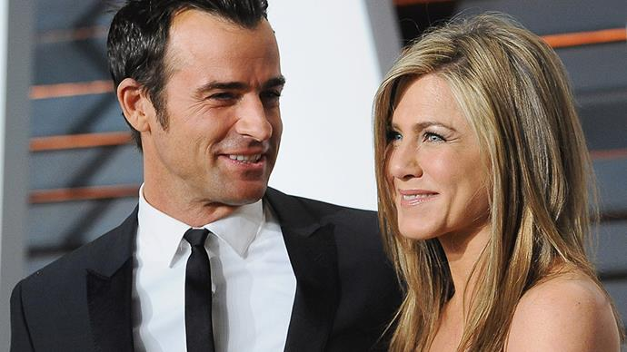 **Justin Theroux and Jennifer Aniston** <br><br> Justin and Jen went to great lengths to ensure no one but the guests witnessed their 2015 nuptials.