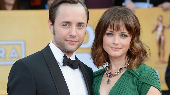 **Alexis Bledel and Vincent Kartheiser** <br><br> Alexis and Vincent, who met on the set of *Mad Men*, slipped away to get married in California in 2014.