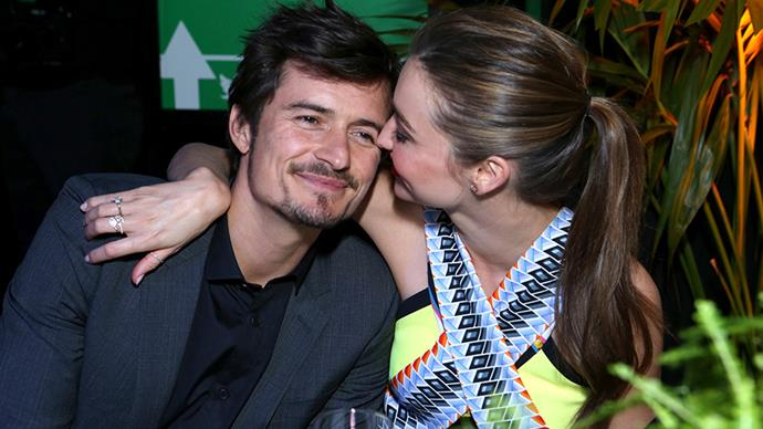 **Miranda Kerr and Orlando Bloom** <br><br> These two crept away for a very private wedding in 2010, before the birth of their son, Flynn, in 2011.