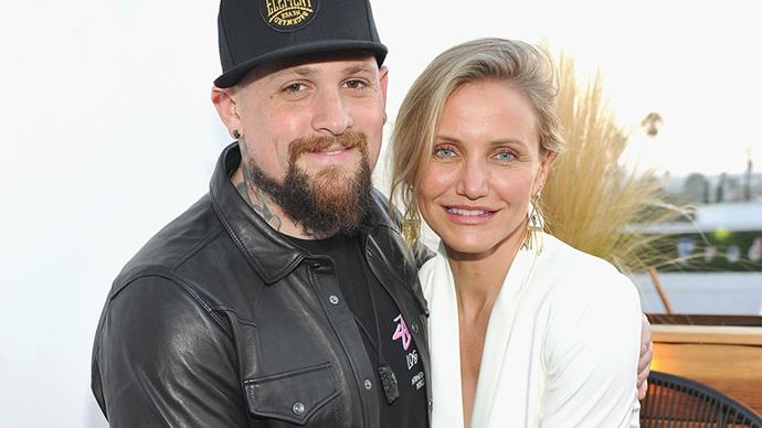 **Cameron Diaz and Benji Madden** <br><br> These two married just 17 days after getting engaged and they did it at their own home, which why we never got our hands on any pictures.